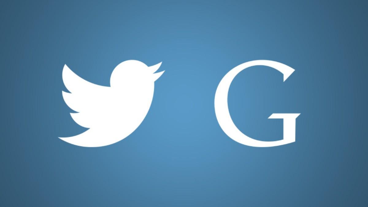 أسهم تويتر ترتفع بعد تقارير عن استحواذ جوجل Google