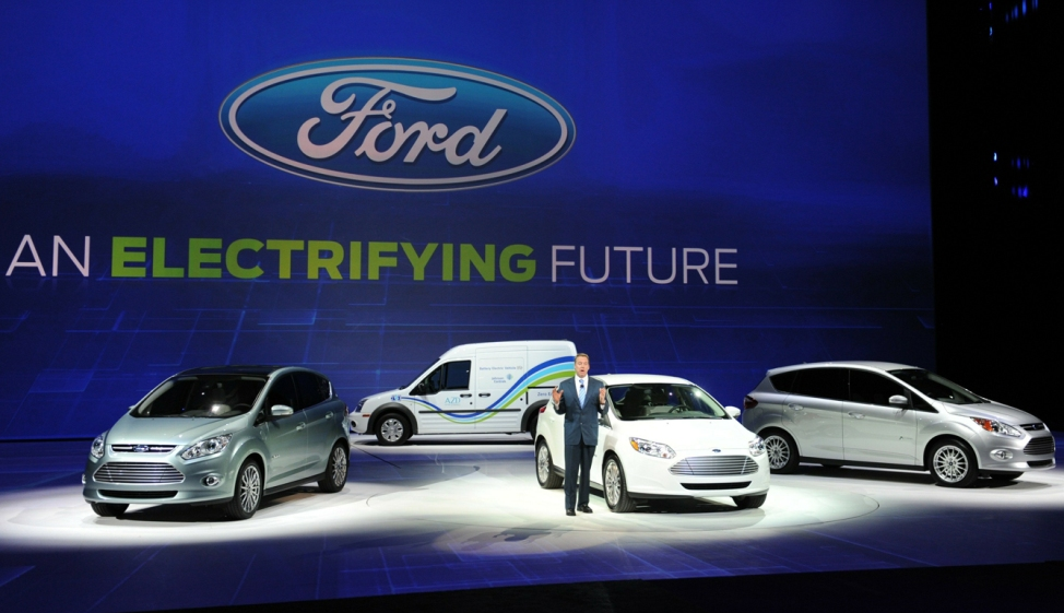 استثمار ضخم لبرنامج السيارات الكهربائية لشركة فورد Ford