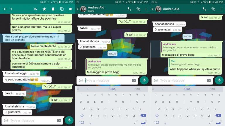 اكتشف ميزة الاقتباس الجديدة على تطبيق واتساب whatsapp (3)