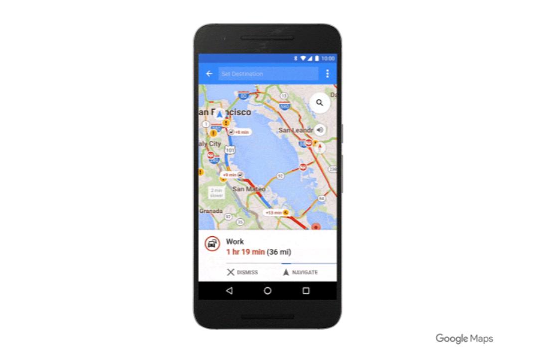 الآن وضع القيادة في خرائط قوقل متوفر للجميع Google Maps
