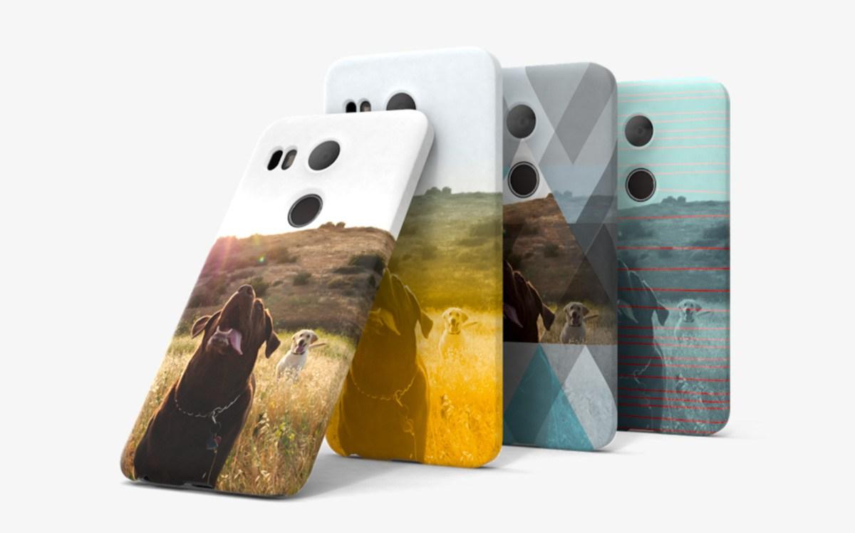 الآن يمكنك وضع صورتك على حفاظة هاتفك Nexus Live Cases