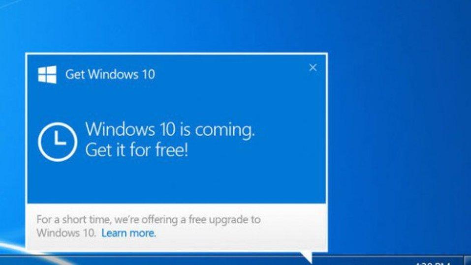 تحديث من مايكروسوفت Microsoft يبسط لك الإنتقال إلى ويندوز Windows 10