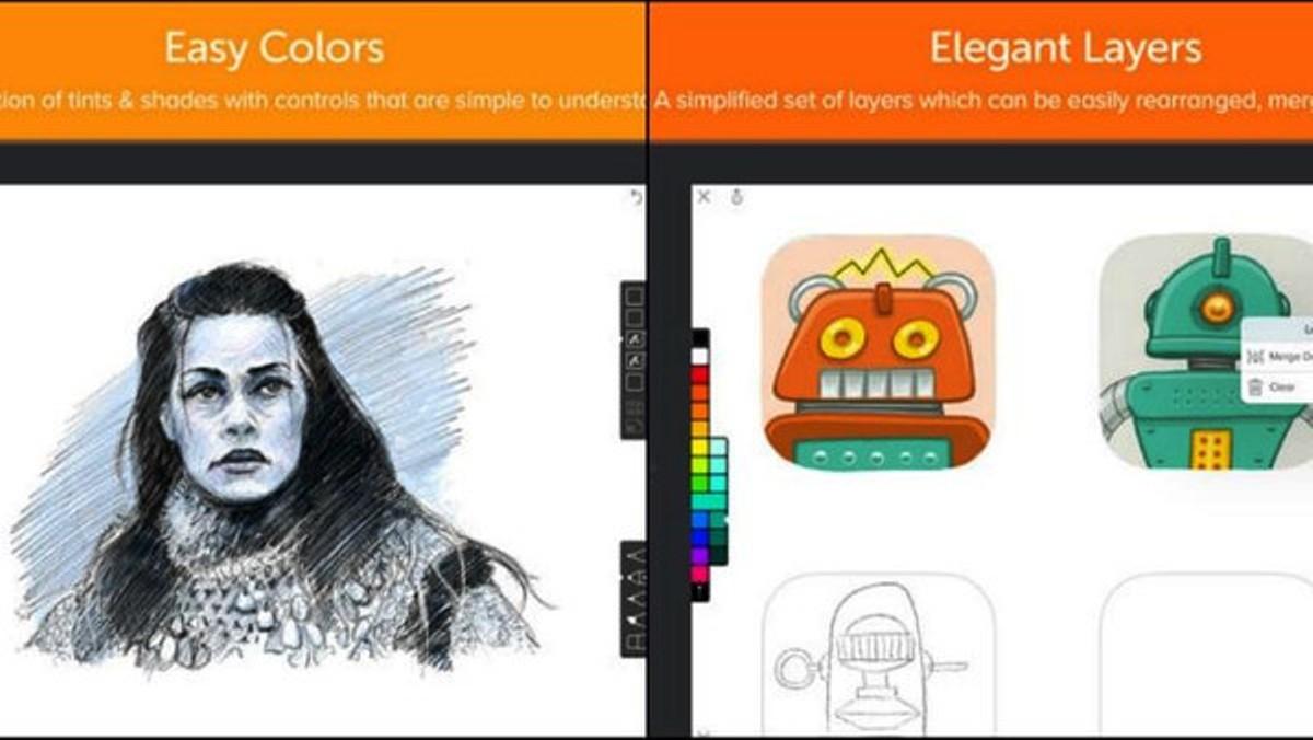 تطبيق رائع للرسم على الآيباد iPad