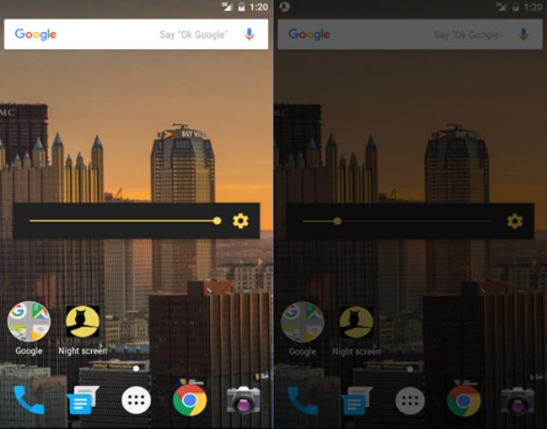 تطبيق ضروري إذا كنت تستخدم هاتفك بالليل Night screen