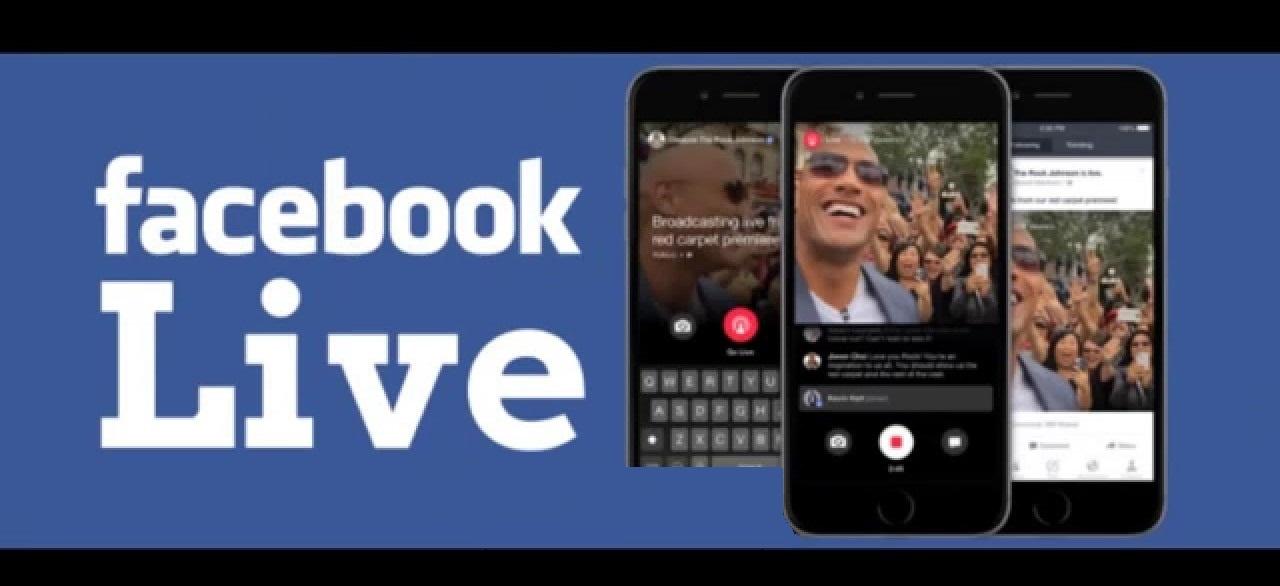 تعرف كيف يمكنك البث المباشر على الفيس بوك facebook livestream
