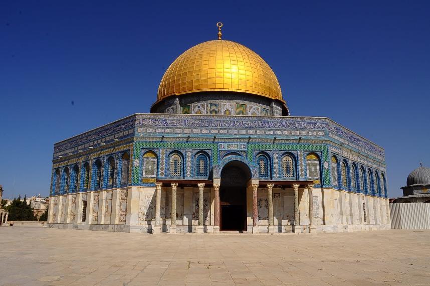 تنقل داخل المسجد الأقصى بفضل تقنية فيديو 360 Video