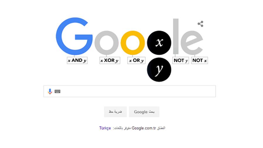 جوجل Google تحتفل بمولد عالم الرياضيات الشهير جورج بول George Boole
