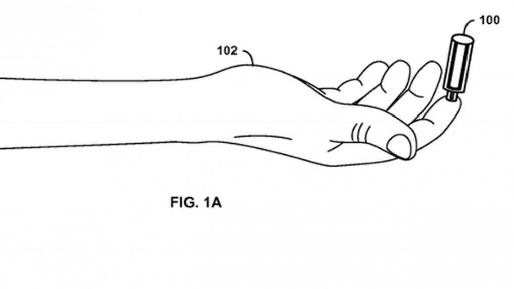جوجل Google تقدم براءة اختراع لأخذ الدم بدون إبرة
