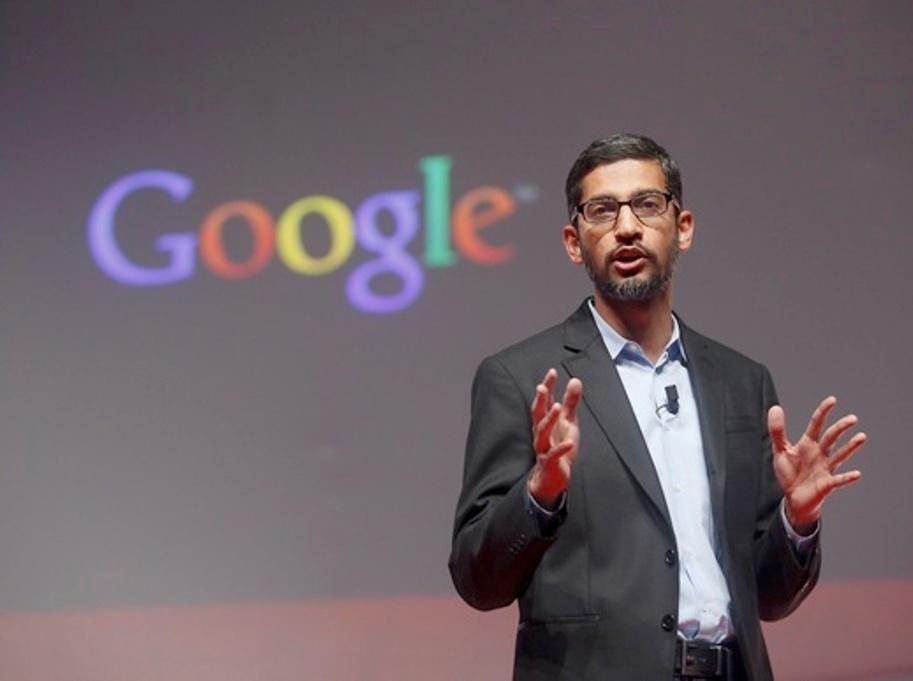 رئيس جوجل سوندار بيتشاي Sundar Pichai يدعم المسلمين في أمريكا والعالم