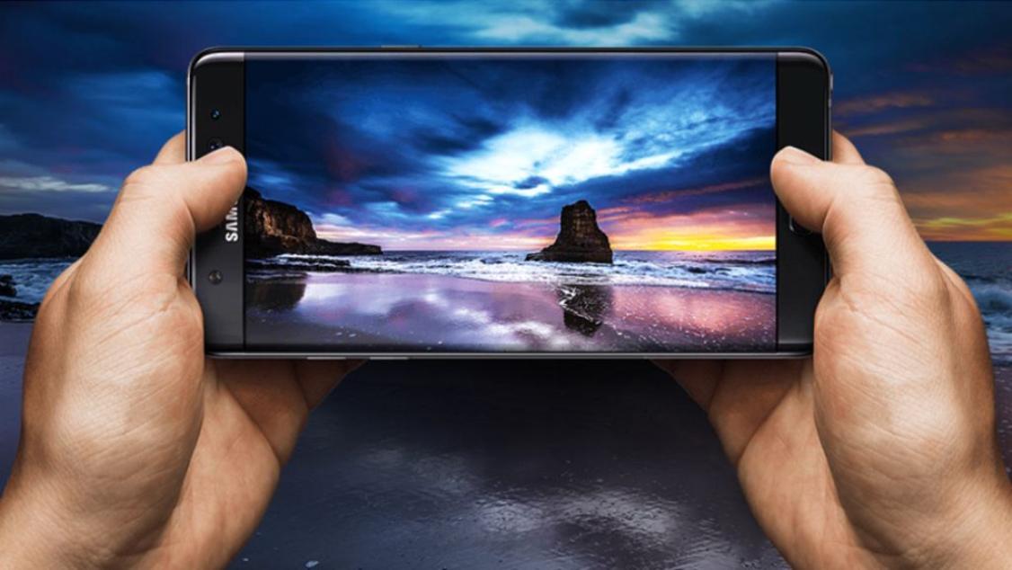 شاشة جالاكسي نوت7 هي أفضل شاشة هاتف على الإطلاق Screen Phone