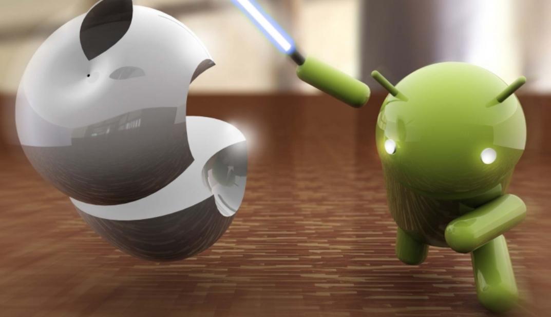شاهد هاتف أيفون يعمل بنظام تشغيل أندرويد Android