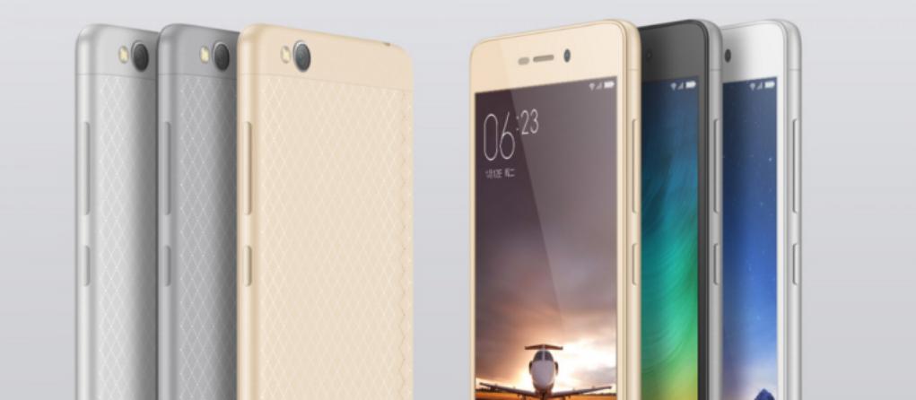 شاومي xiaomi تطرح رسميا هاتفها ريدمي 3 Redmi
