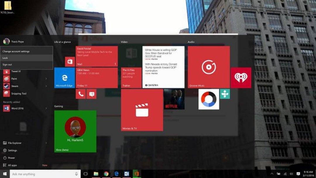طريقة تغيير الصورة الشخصية على الويندوز 10 Windows 2