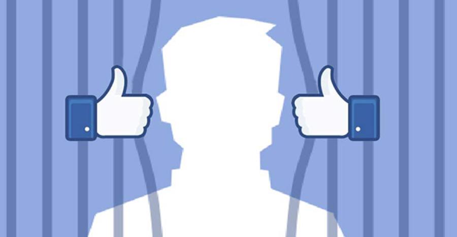 عقوبة قد تصل ل 32 سنة سجن لشاب قام بالضغط على زر لايك Like في الفايسبوك