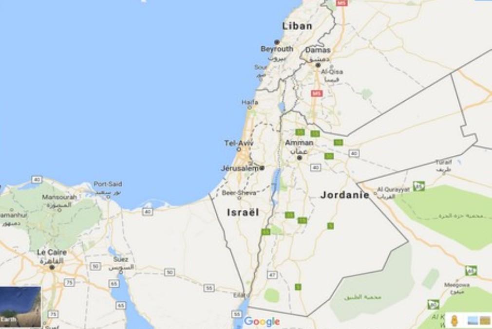 غوغل تحذف فلسطين من خرائطها Google maps