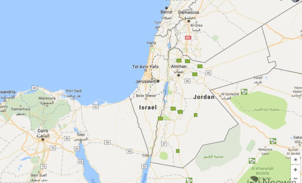 قوقل ترد أنها لم تحذف اسم فلسطين من الخريطة Google maps