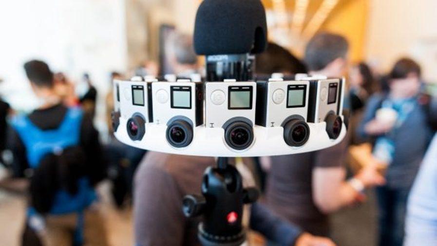 كاميرا واقع افتراضي بجودة فائقة من جوجل Virtual Reality Camera