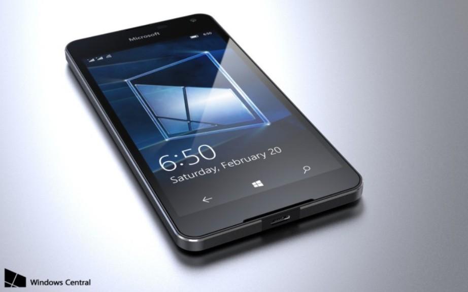 لوميا 650 Lumia من مايكروسوفت Microsoft قادم بداية 2016
