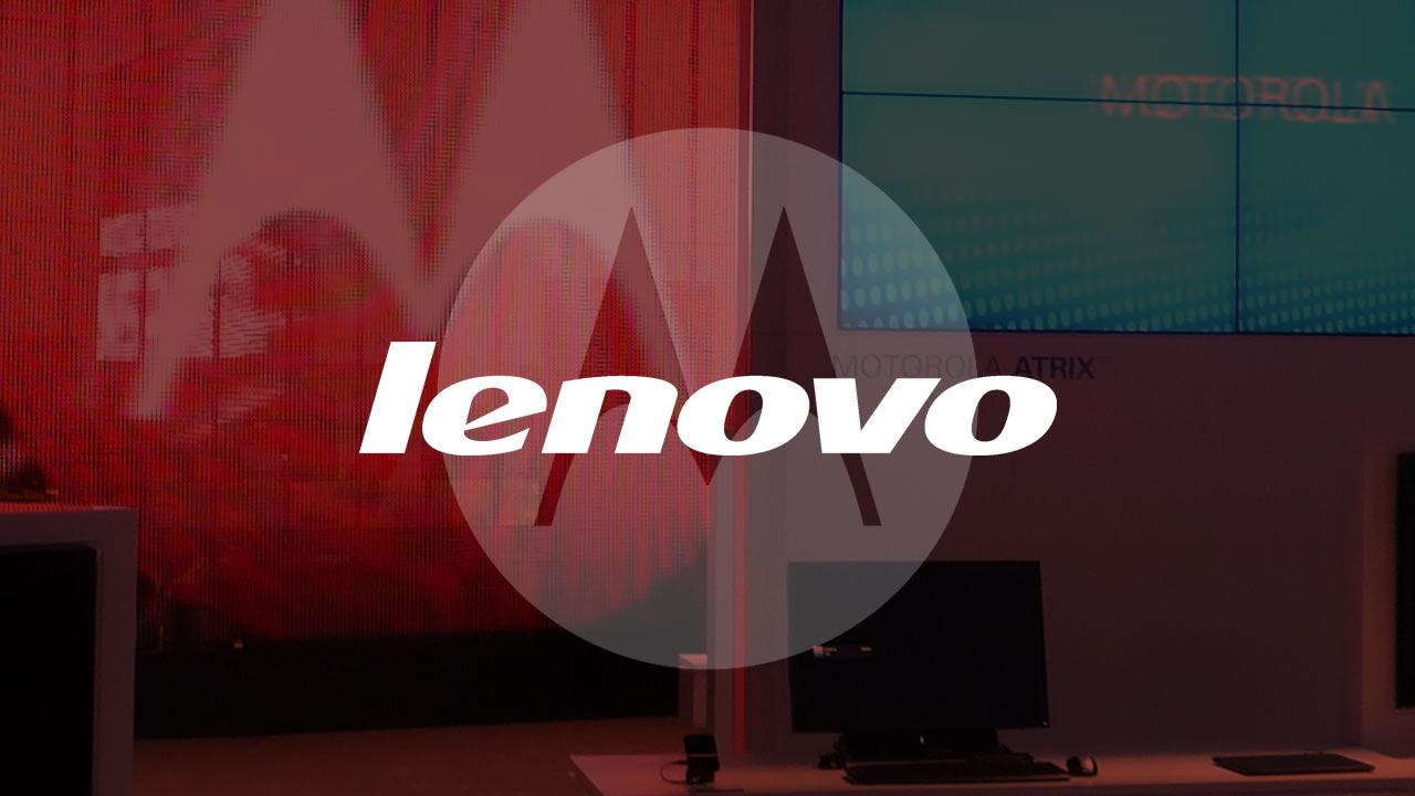 لينوفو Lenovo تستغني عن اسم موتورولا Motorola في الهواتف الذكية