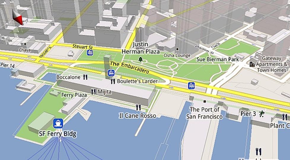 ميزة استخدام خرائط جوجل Google maps للايفون iphone بدون اتصال بالانترنت