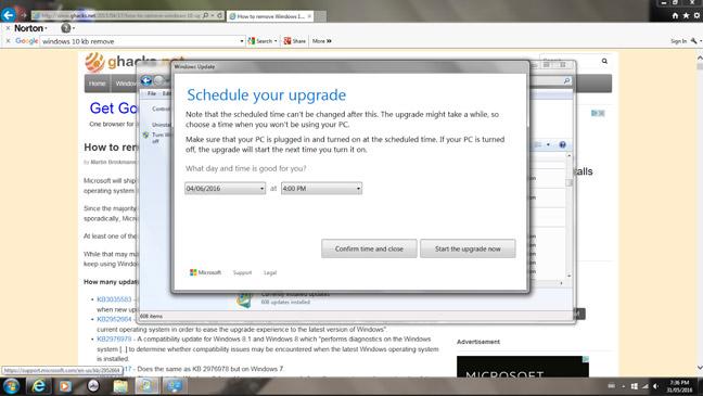 هكذا تريد مايكروسوفت أن تجبرك للانتقال إلى ويندوز 10