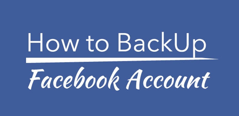 هكذا يمكنك أخذ نسخة  لحسابك على فيسبوك facebook بسهولة