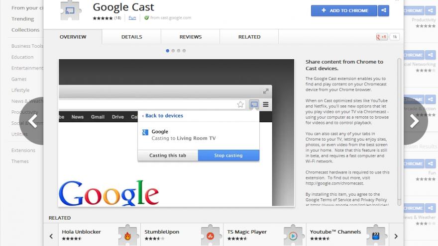 هكذا يمكنك بث محتوى متصف كروم على التلفاز Google Cast