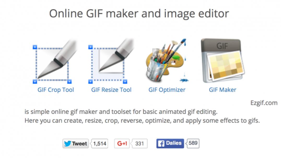 هكذا يمكنك تحرير صور جيف GIF المتحركة بدون برامج