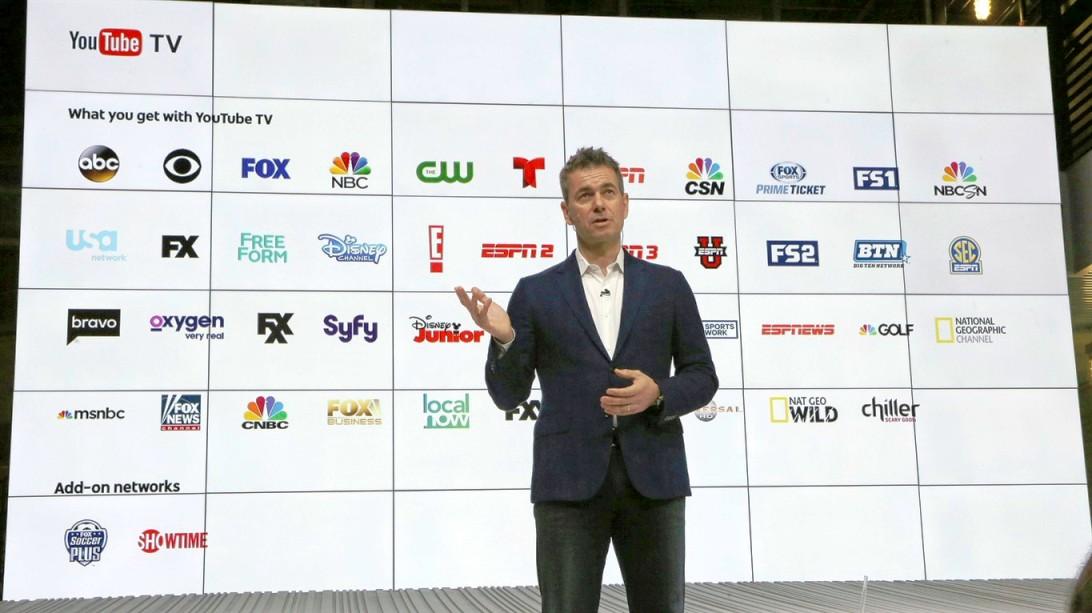 يوتيوب تطلق خدمة البث التلفزيوني للقنوات Youtube TV