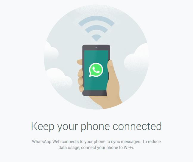 WhatsApp حاليا عبر الويب