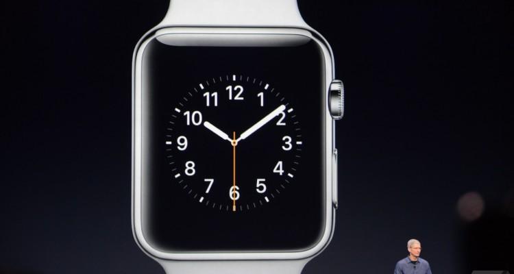 ساعة أبل Apple Watch للسوق أبريل المقبل