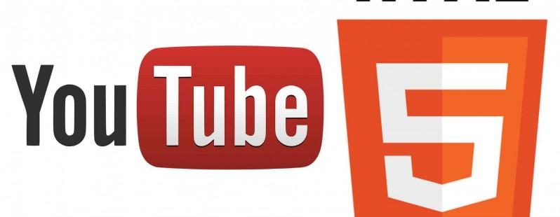 الفيديو على اليوتوب Youtube بتقنية HTML5 افتراضيا