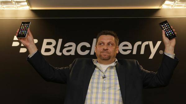 بلاك بيري تكشف عن هاتف BlackBerry Leap بمواصفات متوسطة