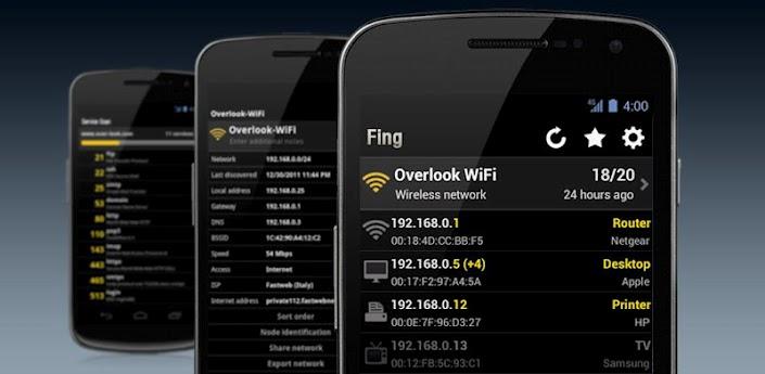تطبيق لمراقبة المتصلين بشبكتك اللاسلكية Wifi
