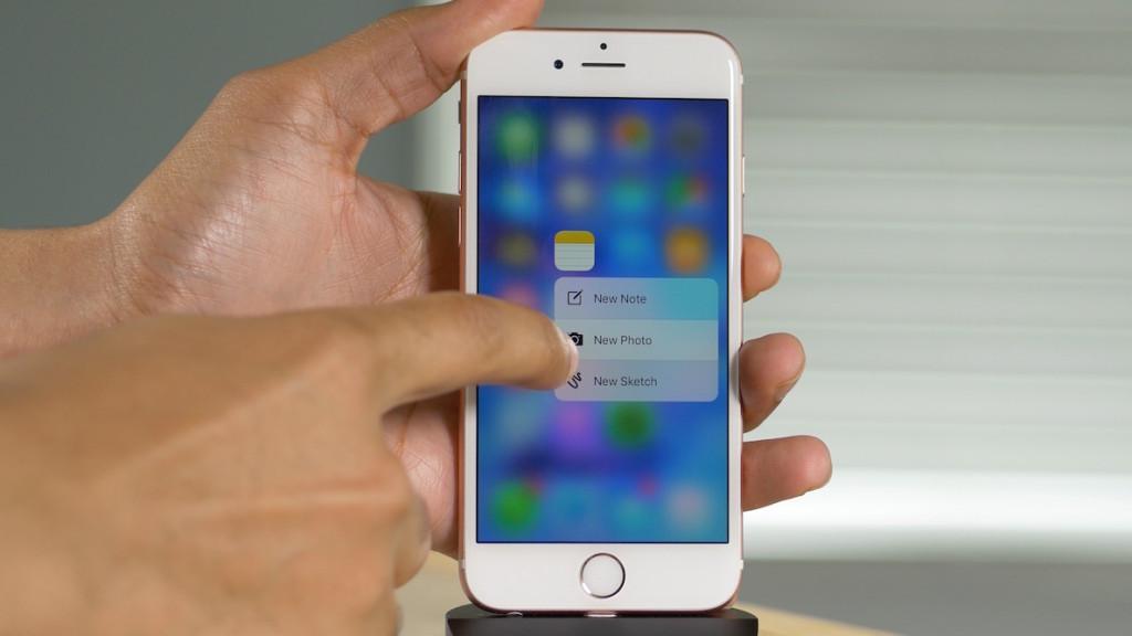 خاصية اللمس ثُلاثي الأبعاد 3D Touch قريبا على أجهزة أندرويد