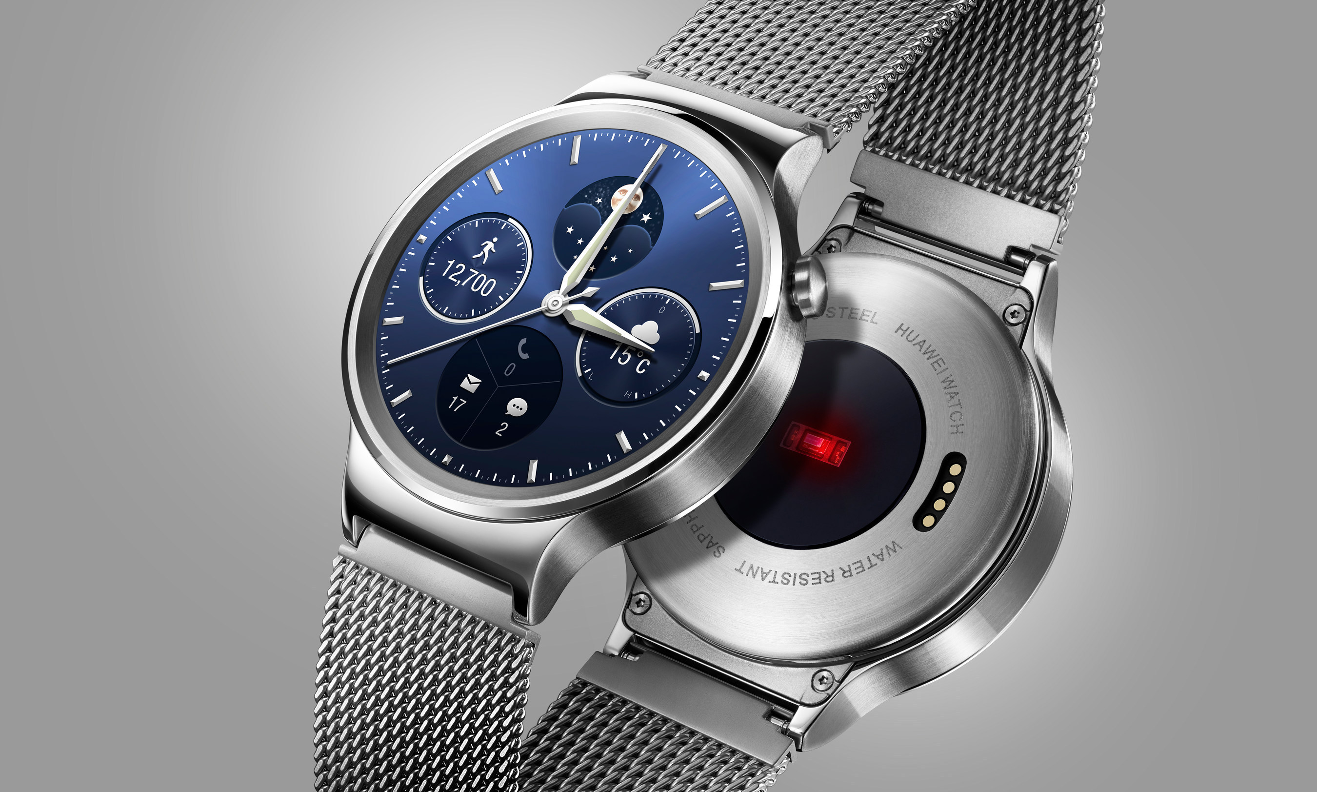 ساعة Huawei Watch للبيع ابتداءا من 349 دولار