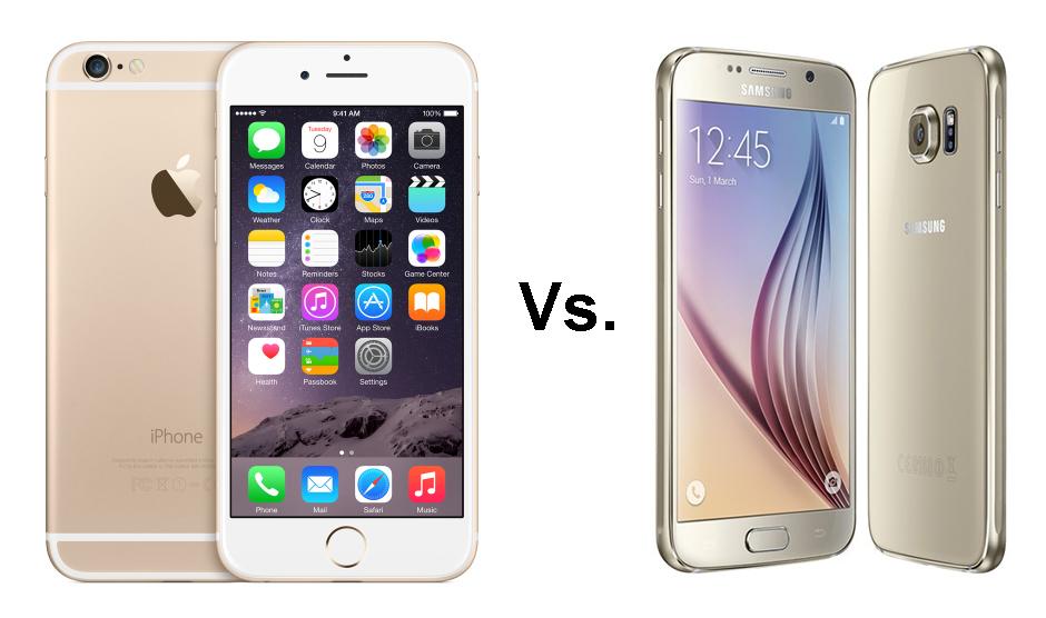 بالفيديو: مقارنة هاتف الايفون 6 مع سامسنج كلاكسي اس 6