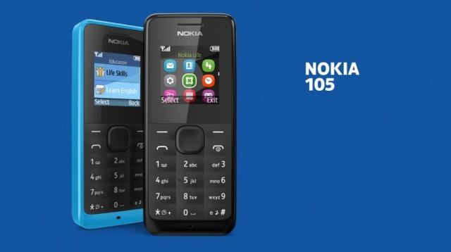 Nokia 105: هاتف جديد من نوكيا ب 20 دولار فقط