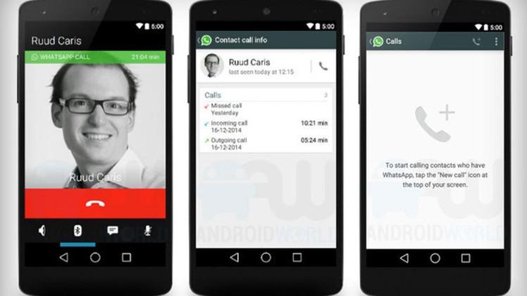كيفية تفعيل ميزة المكالمات الصوتية للواتسآب Whatsapp